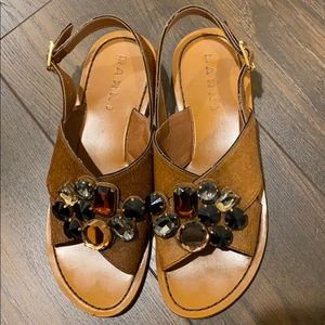 Worn Once brown authentic Marni sandals